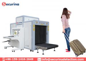 China Dual View Imaging Airport Security X Ray Machine , Luggage Scanning Inspection Scanner on sale