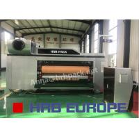 Automatic 5 Colors Flexo Printer Slotter Die Cutter High Definition For Paper Forming