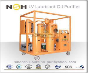 China Sino-NSH LV Series Lubricant Oil Purifier Plant For Lube Oil Lubricating Oil Purifier Oil Filtration on sale