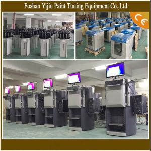 China Reliable Paint Tinting Machine And Gyroscopic Mixer High Performance on sale