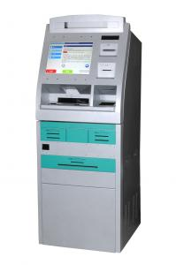 China Ticketing / Card Printing and Waterproof Free Standing Kiosk with Account Inquiry on sale