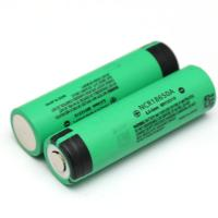 panasonic 3100mah NCR18650A 3.7v rechargeable li-ion battery original for wholesale