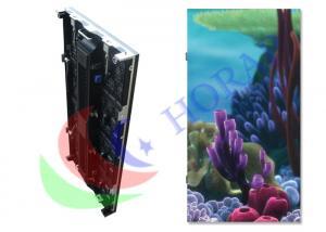 China Noiseless RGB PH 5.95mm Custom LED Signs / Curved Flexible LED Screen Rental on sale