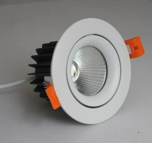 China Aluminum Alloy Recessed Adjustable Led Downlights 9W 12W 20W With CREE COB Chip on sale