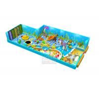 Sea Theme Preschool Indoor Climbing Equipment , Toddler Indoor Play Equipment
