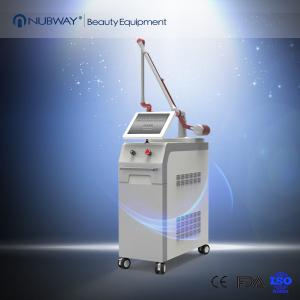 China Powerful 1064nm 532nm Q Switched Nd Yag  Laser Tattoo Removal Machine on sale