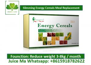 Quality High Nutritional Value Meal Replacement Cereal , Weight Loss Milkshakes Solid Powder for sale