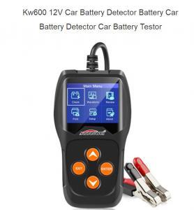 China BT101 black color Automotive Scanner Multi-languages car Auto Diagnostic Tester Tool KW600 on sale