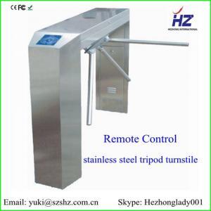 China IC card/ ID card/ barcode reader access control tripod turnstile gates on sale