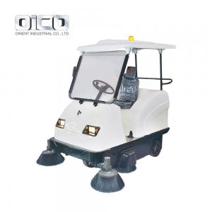 China New model mechanical sweeper machine with battery and  windshield on sale