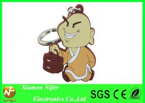 China Eco-friendly Soft PVC Keychains 2D Cartoon Custom Key Ring Chains Unique and Cute on sale