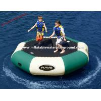Large PVC Tarpaulin Inflatable Water Trampoline Pool , Water Inflatable Bouncer