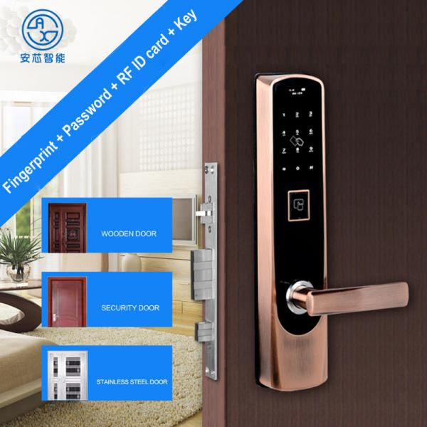 home security door locks. Contemporary Security Anxin New Smart Home Password Fingerprint Zinc Alloy Intelligent Door Lock  Peepproof Lift To Loct ID Card Key Images With Security Locks