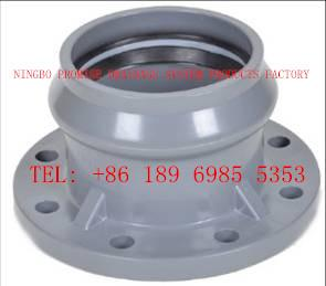 China Faucet flange Flexible Joint Fittings PVC-U UPVC Flexible Joint Fittings on sale