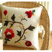 High quality handcrafted embroidery pillow cover/case