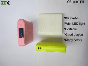 China MP3 , GPS Mobile Power Charger With LED Light , Samsung Galaxy Note Power Bank on sale