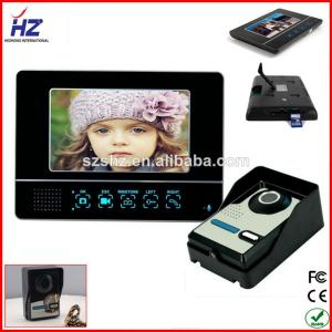 China popular fashionable home automation wireless intercom system video door phone on sale