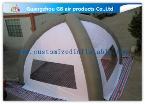 China White 8m Classic Inflatable Air Tent Spider Dome Inflatable Tent With Air Columns for Events on sale