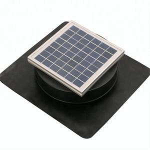 China 6W Solar powered Roof exhaust ventilation solar attic vent fan 12v dc on sale
