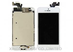 Quality Tela táctil material de TFT Iphone 5 LCD branco/preto/outra cor for sale