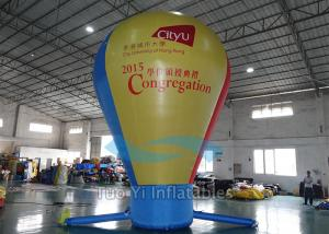 China Pure Color Hot Air Balloon Model Inflatable Balls For Outdoor Business Promotional on sale