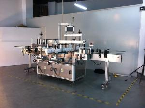China Self Adhesive Labeling Machine Automated Label Applicator High Speed Three Label on sale