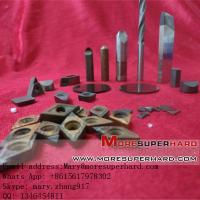 PCD & PCBN Cutting turning  Tools inserts for magnesium alloy and carbide