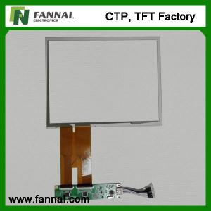 China Large 10.4 Inch Capacitance Touch Screen Open Frame P-CAP 5 Touch Panel on sale