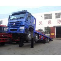 HOWO Cargo Container Truck / Safety 40 Tons Container Transport Truck ZZ1257M4641V/M