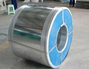 China ASTM A653M JIS Hot Dipped Galvanized Steel Coil DX52D Explosive Proof on sale