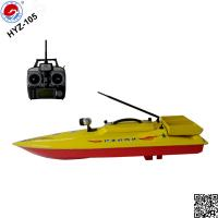 China stable performance fishing remote boat HYZ-105 RC bait boat with LED light on sale