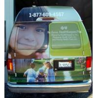 advertising car window film sticker