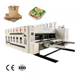 China carton printing die cutting machine Automatic Printing Die cutting slotting machine corrugated box carton making machine on sale