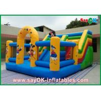 Mickey Mouse Castle Bounce House Inflatable For Family Entertainment
