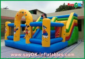China Mickey Mouse Castle Bounce House Inflatable For Family Entertainment on sale