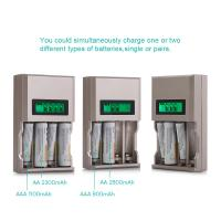 4 Slot Rechargeable Battery Charger