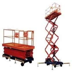 China explosion-proof Mobile scissor lift / hydraulic aerial lift / electric elevated platform Lifting height 4 - 20m on sale