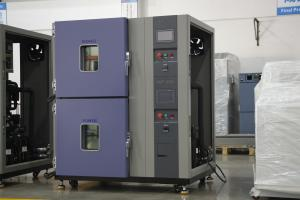 China 225L Programmable Temperature Test Chamber With Double Test Space Vertical on sale