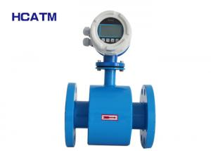 China Reliable Electromagnetic Type Flow Meter , Conductive Liquid Flow Meter on sale