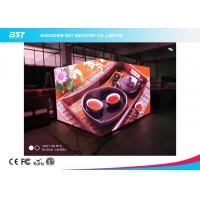China HD Cube Indoor Advertising LED Display 4 Pixel Pitch Seamless Splicing For Restaurant on sale