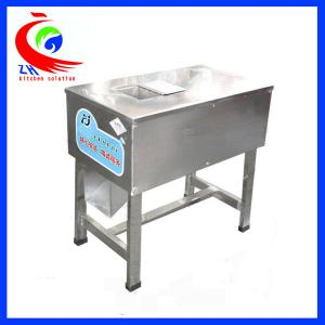 China Beef chicken Food Processing Machinery / Frozen meat cube cutting machine on sale