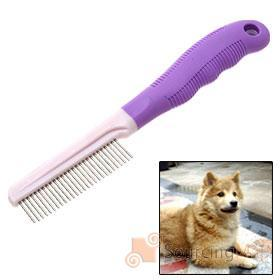 China pet curved needle brush on sale