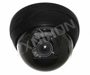 China 420 TVL Plastic Dome Security CCTV CCD Vandal Proof Camera With 4 - 9mm Manual Zoom Len on sale