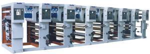 China AZJ-YA rotogravure printing machine for printing roll plastic film,  thin leather, paper on sale