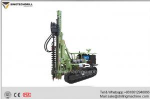 China High Efficiency HydraulicCrawlerDrillRig TDS130YWith 90-200 Bore Diameter on sale