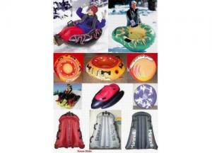 China inflatable snow tube;inflatable snowmobile on sale