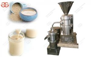 China Sesame Paste Grinding Machine Colloid Mill|Sesame Butter Grinder Machine Price on sale