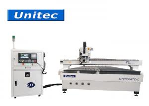 China Linear Guide 3 Axis ATC 2060 2000X6000mm Wood CNC Router on sale