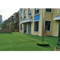 China Green Healthy Decorative Artificial Grass False Turf Long Life Expectance on sale