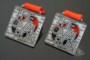 China The Oval Run Make A Custom Metal Award Medals For Your Sport Events, Bespoke Your Logo Ribbon on sale